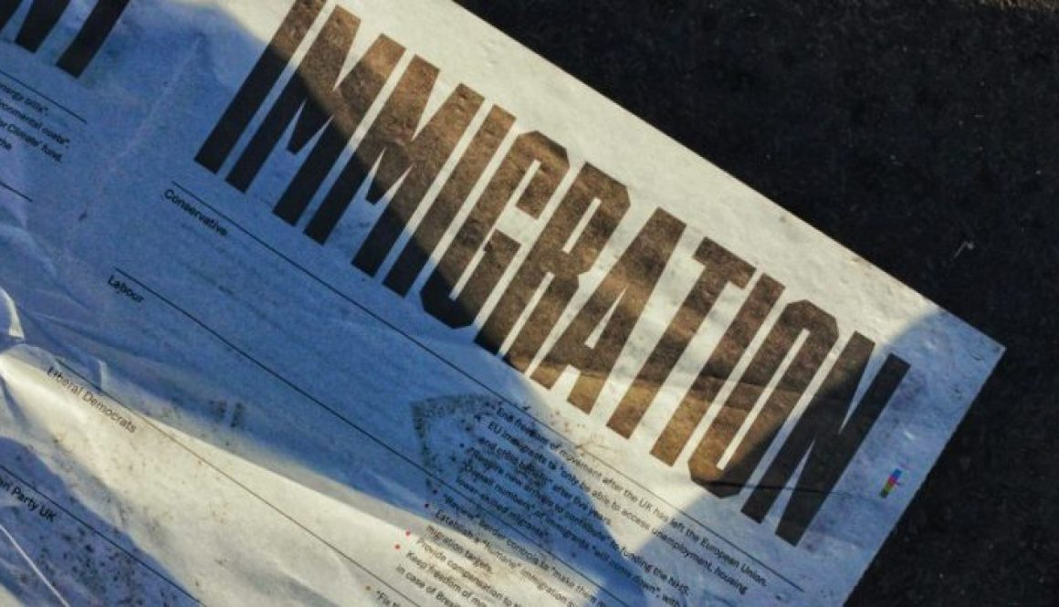 immigration paper word